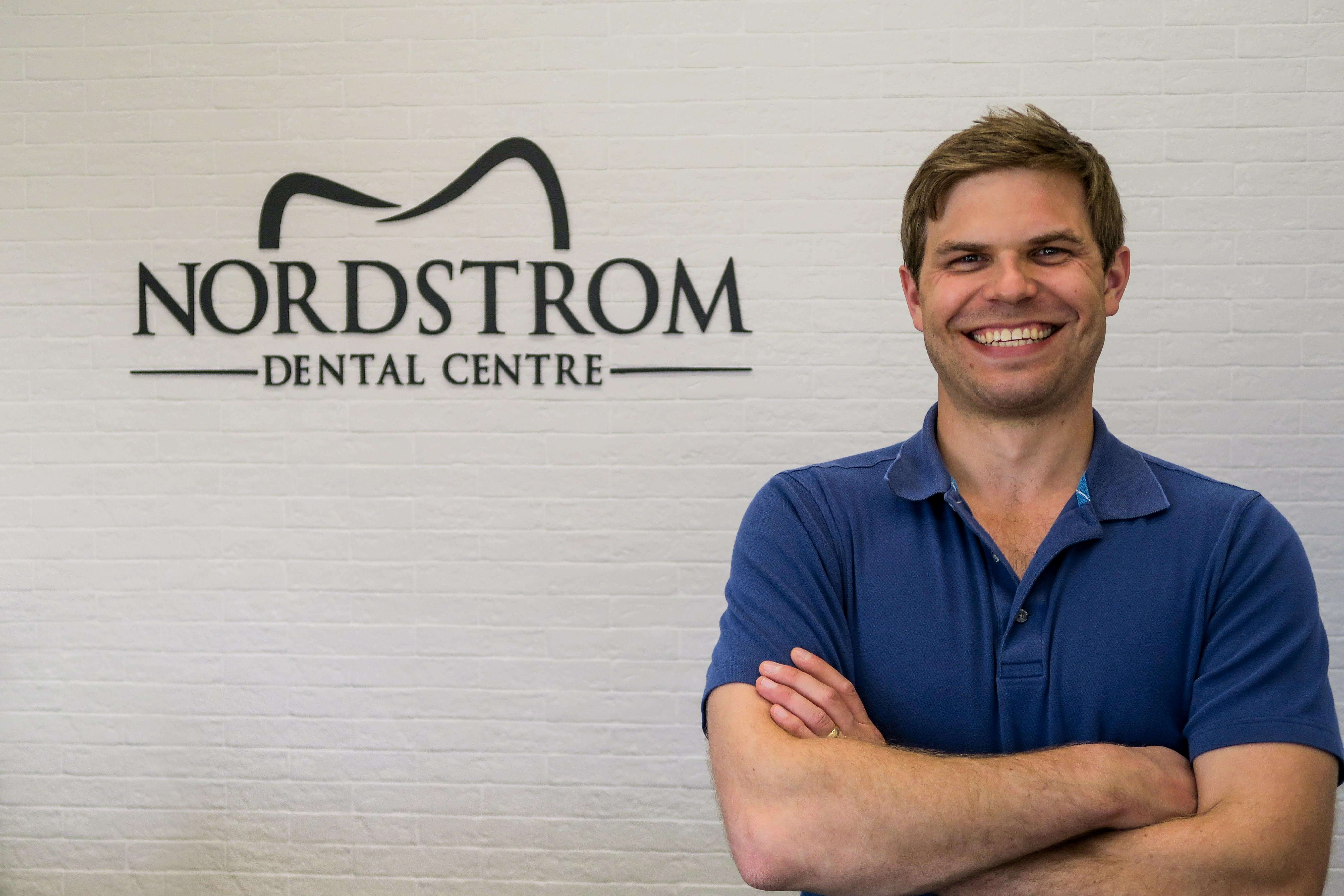 Nordstrom Dental Centre is a full-service dental practice located in the valley district of Hinton, Alberta. The practice has been owned and operated by Dr. Travis Nordstrom and his wife Marina, a Registered Dental Hygienist, since May of 2014.